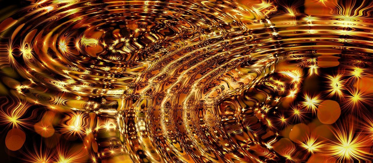 Ordnende goldene Schwingung